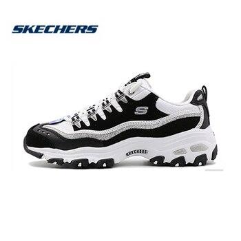 Zapatos Skechers para mujer D'lites moda Casual zapatos cómodo primavera verano estilo occidental señoras calzado 13144 NVW
