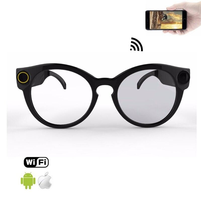 Умные очки Wi-Fi Камера для Беспроводные спортивные Full HD 1080p мини Портативный спортивные солнцезащитные очки с камерой Micro видео Регистраторы ...