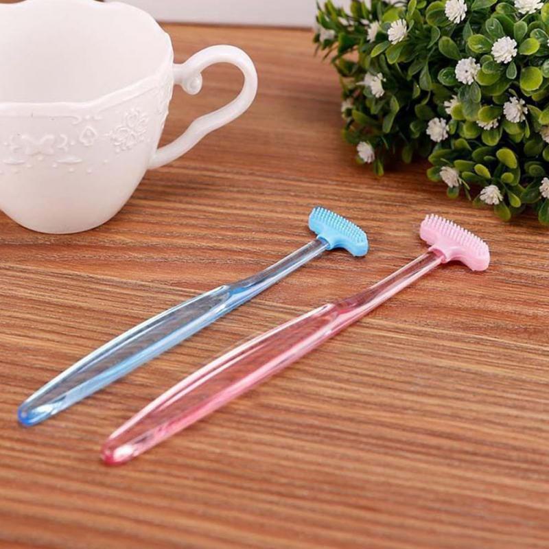 1 шт., очиститель языка, уход за зубами, щетка, скребок для полости рта, инструмент для очистки, дурного дыхания, здоровья