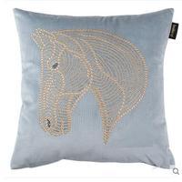 Model House Nordic American Modern Rhinestone Horse Head Pillow Case Living room sofa cushion cover