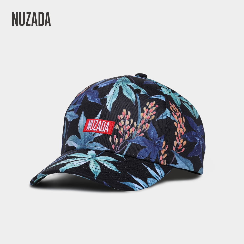 NUZADA Printing Men Women Couple Neutral   Baseball     Cap   Cotton Hat Snapback NUZADA LOGO