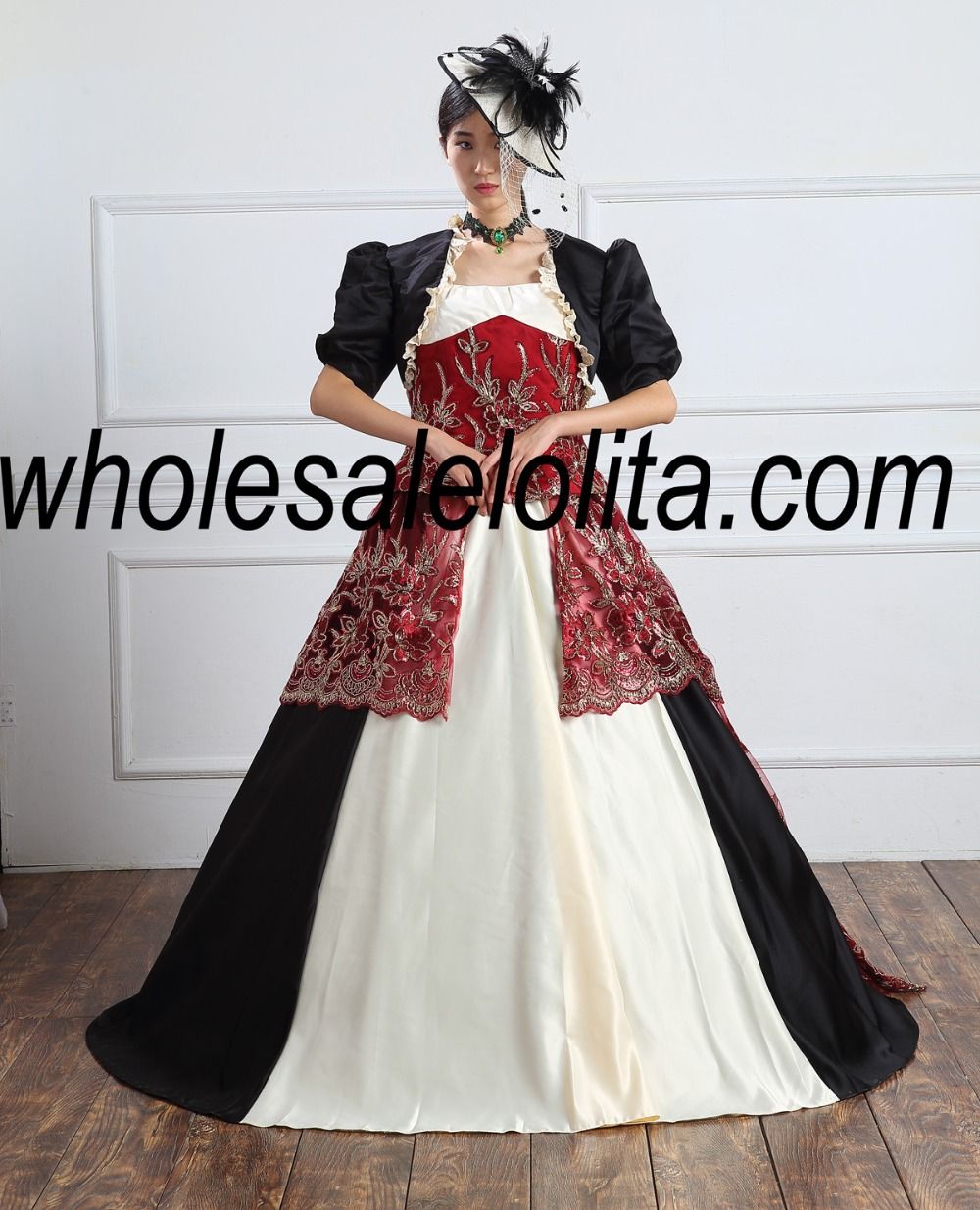 Victorian Period Dress/Southern Belle Gown Reenactment Theater Gown ...