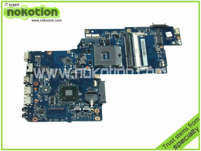 NOKOTION laptop motherboard for toshiba satellite L875 H000043480 Mainboard HM76 GMA HD4000 DDR3 nokotion for toshiba satellite c850d c855d laptop motherboard hd 7520g ddr3 mainboard 1310a2492002 sps v000275280