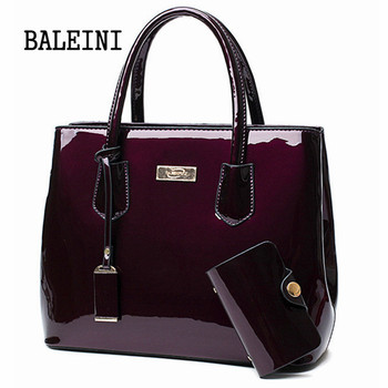 2 in 1Women Leather bags Mirror Shoulder Bags+ card package Fashion Top-Handle Handbags Casual Tote Bags Designer Messenger Bags