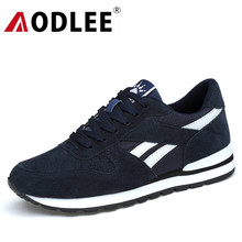 AODLEE Shoes Men Sneakers Genuine Leather Casual Shoes Moccasins Men Loafers Winter Brand Fashion Sneakers Men Boat Shoes Casual