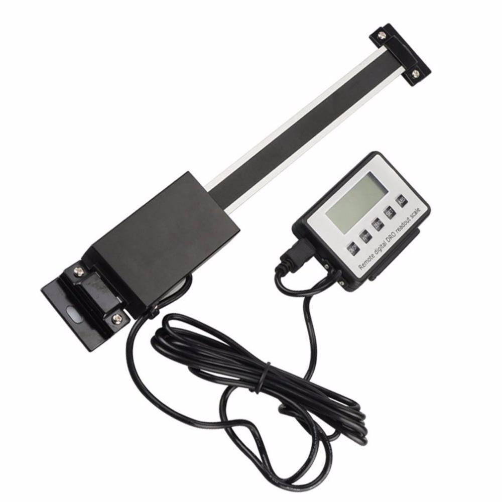 Règle de lecture linéaire numérique taille verticale en option 0.01mm règle d'affichage externe à distance magnétique