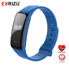 EXRIZU C1 Sport Bluetooth Smart Band Wristband Heart Rate Blood Pressure Monitor Watch Pedometer Fitness Bracelet Sleep Tracker