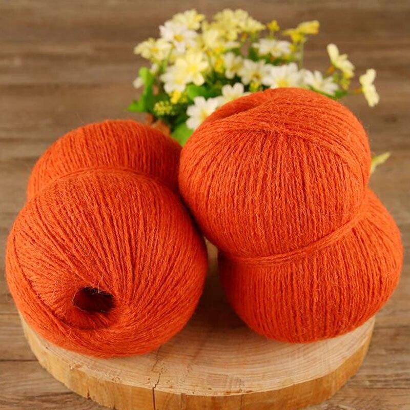 Оптовая продажа 250 г/лот камвольно толщиной пряжи для вязания альпаки / шерсть / акрил ручного вязания крючком yarns pelote де laine a tricoter