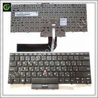 Russian keyboard for Lenovo IBM Thinkpad E40 E50 Edge 15 14 RU laptop with mouse point sticker