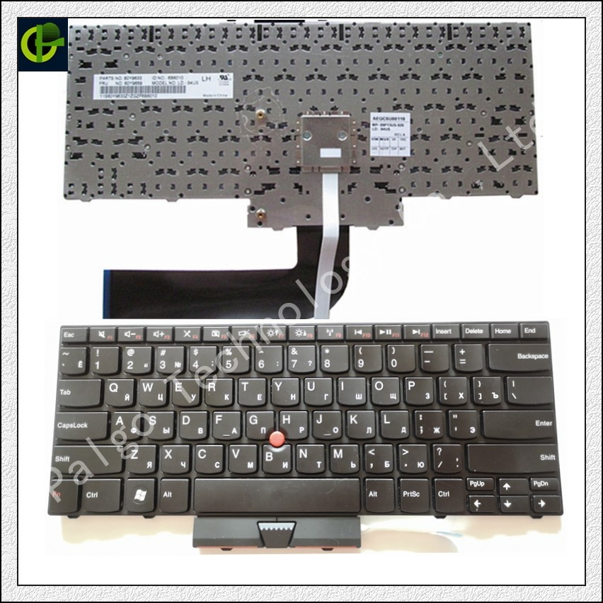 Russian keyboard for Lenovo IBM Thinkpad E40 E50 Edge 15 14  RU laptop with mouse point stickerRussian keyboard for Lenovo IBM Thinkpad E40 E50 Edge 15 14  RU laptop with mouse point sticker