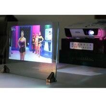 ثلاثية الأبعاد الثلاثية الأبعاد فيلم الإسقاط لاصق شاشة العرض الخلفي A4 حجم 1 قطعة عينة 4 لون اختياري