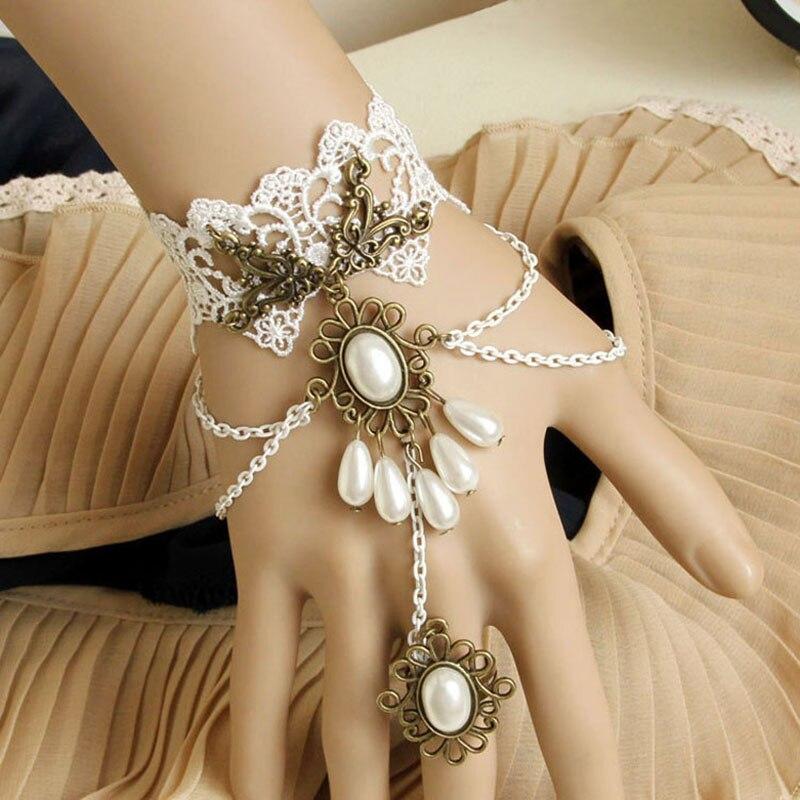 Ručno izrađene ženske perle kapljice slojevitog lanca Faux biserni - Modni nakit - Foto 2