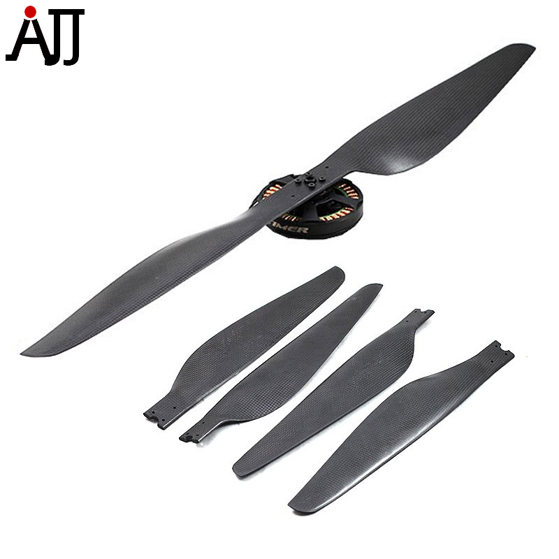 2 Pairs 26x8.5'' 2685 Carbon Fiber Propeller CW CCW Folding Props For DIY FPV Multi-rotor Quadcopter Parts 5055 carbon fiber propeller cw ccw 2 pair for 200 250 300 quadcopter black 2 pairs