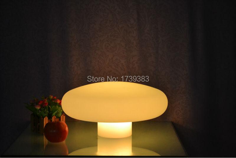 40*Height 20 cm Waterproof Multi Colors Mushroom Lamp Rechargeable Touch Sensor Fungus LED Night Light Desk Lamp