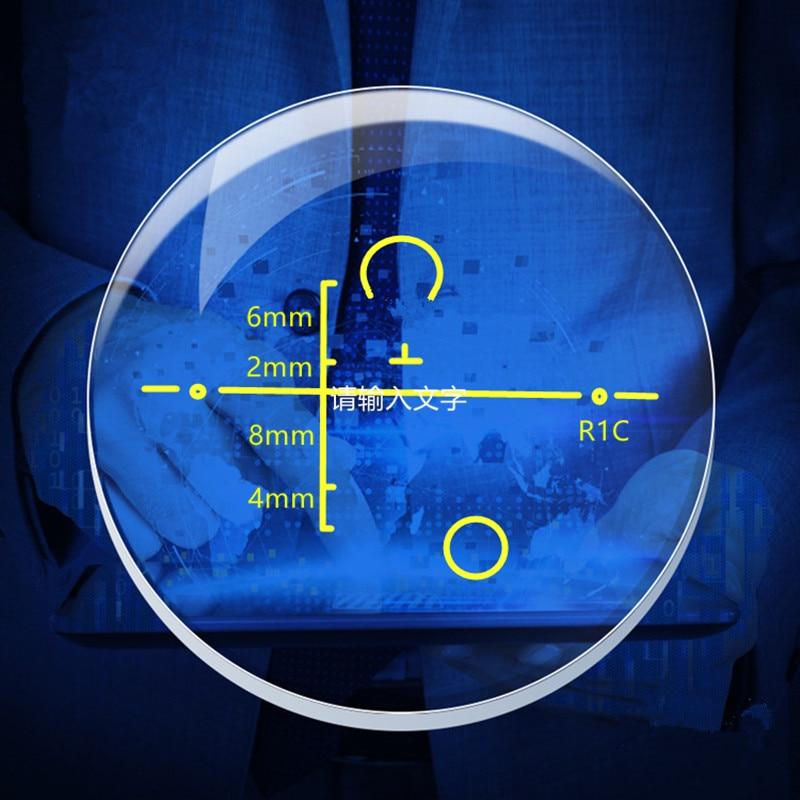 Blu-ray lentilă progresivă progresivă astigmatism miopie Hyperopia Multifocală progresivă Uită-te departe și privi mai aproape