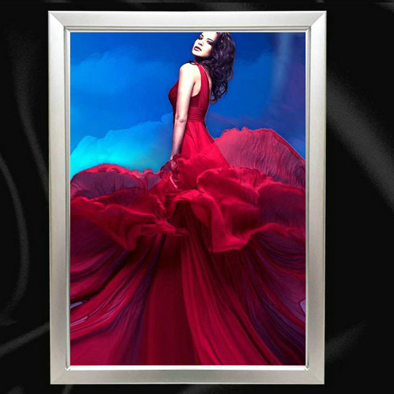 Yangyu Sign led Photo Picture Frame Slim Light Box the price for 2 pcs шина amtel nordmaster 2 m 507 185 70 r14 88q шип