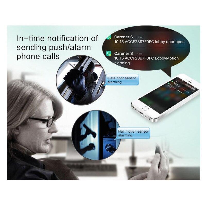 Image 5 - Towode 무선 홈 보안 WIFI GSM 3G GPRS APP 원격 제어 경보 시스템 패널 EN RU FR ES SE NL TRkit diykit kitskit gsm -