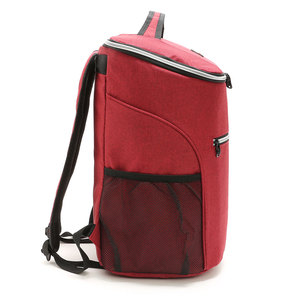 Image 3 - 20L 600D أكسفورد حقيبة للحفاظ على البرودة الحرارية الغداء نزهة صندوق معزول حقيبة ظهر باردة الجليد حزمة الطازجة الناقل حقائب كتف الحرارية