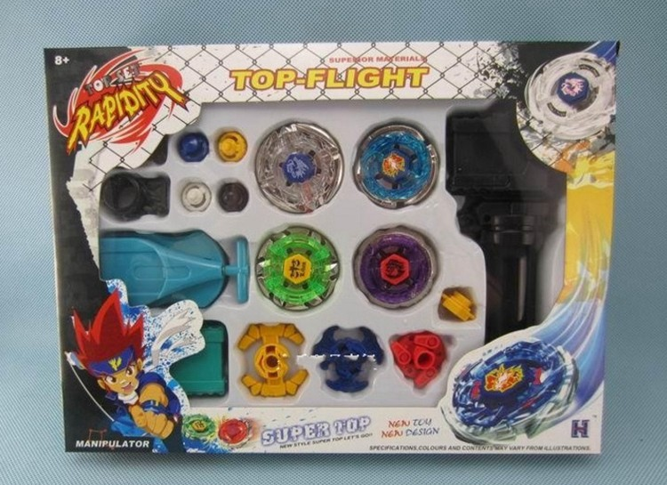 Pegasus Toy Beyblade Spining Top Battle Launcher Grip Set Stadium Beyblade Rare Beyblades Gyroscope Classic Fusion Master Toys  фонарик beyblade бейблейд morph lite цвет синий