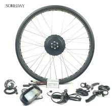 Когда-нибудь Электрический велосипед 36 V/48 V 350W snowbike EBIKE fat переднего колеса Планетарная Втулка с дисплеем LCD6