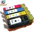 Para HP Impressora De Tinta com Chip para HP 655, Cartucho de tinta para impressora HP deskjet 3525 4615 4625 para HP655 CZ109AE CZ110AE CZ111AE CA112AE