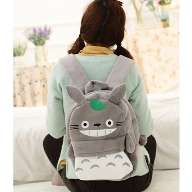 New-Arriving-Totoro-Plush-Backpack-Cute-Soft-School-Bag-for-Children-Cartoon-Bag-for-Kids-Boys-Girls-2
