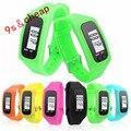 Digital LCD Pedometer Run Step Walking Distance Calorie Counter Watch Bracelet #4174 Free Shipping