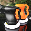 12V 40W Электрический автомобильный полировщик для полировки воском  набор для полировки краски автомобиля  уход для ремонта полировальная ма...