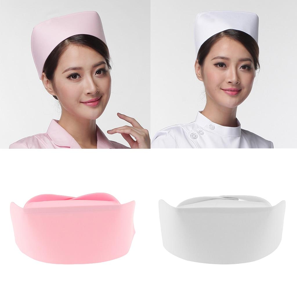 Ladies Women Nurse Hat Fancy Dress Adult Costume Hospital Party Accessory