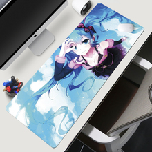 XL 900x400x2mm sexy Anime mouse pad laptop notebook tablets gaming lock edge office nonslip mat
