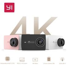 """Yi 4 k câmera de ação xiaomi eis a9se sports action camera 12.0mp cmos ambarella 2.19 """"LDC Tela Retina WI-FI Inteligente À Prova D' Água DV"""