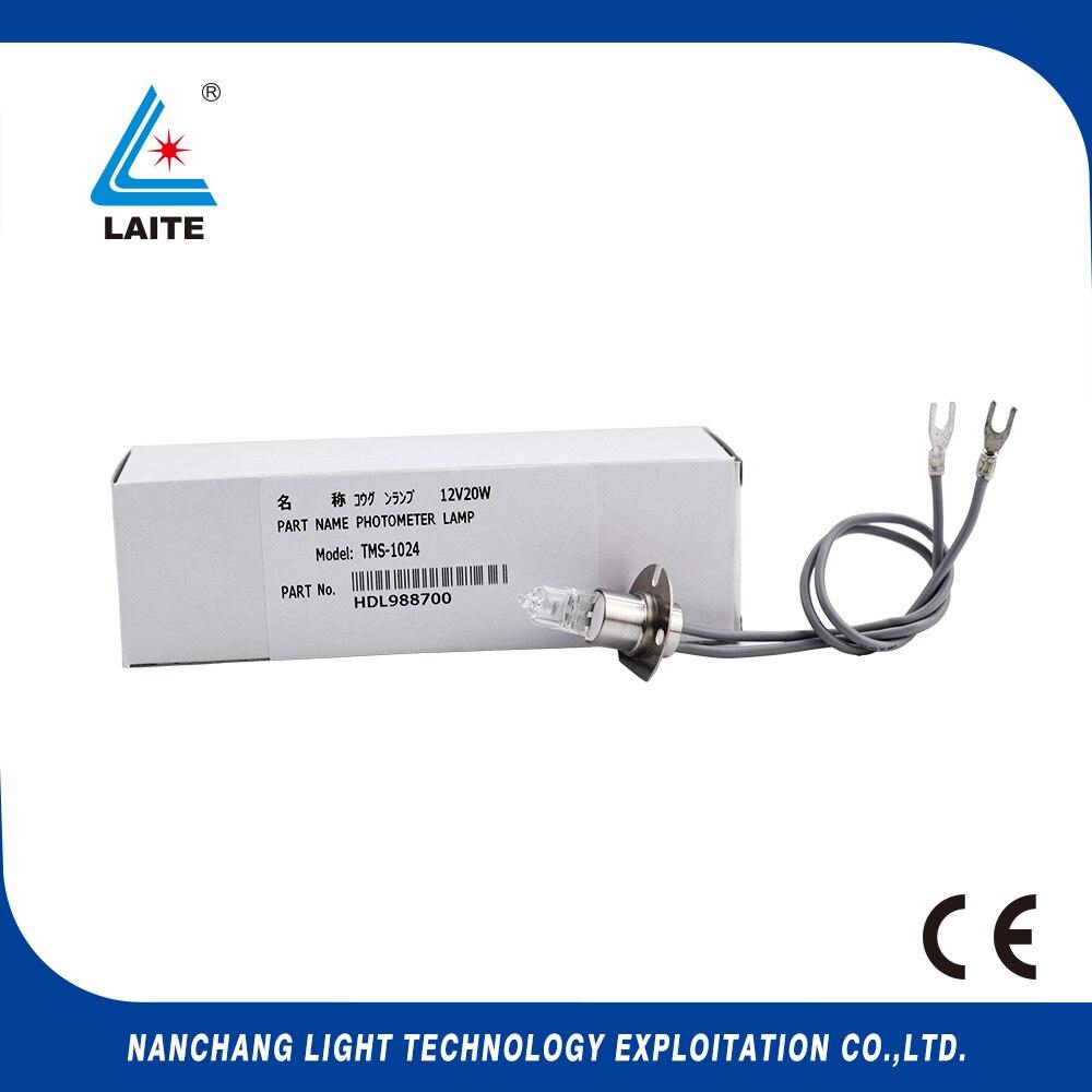 TMS1024 12V20W biochemická analyzátorová žárovka TMS-1024 12V 20W SP2057 PS2057 TMS 1024 halogenová žárovka doprava zdarma-3ks