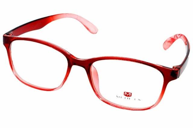 2016 NEW FULL-RIM FASHION RED GLASSES FRAME CUSTOM MADE OPTICAL MYOPIA AND READING GLASSES LENS +1+1.5+2+2.5+3+3.5+4+4.5+5+5.5+6