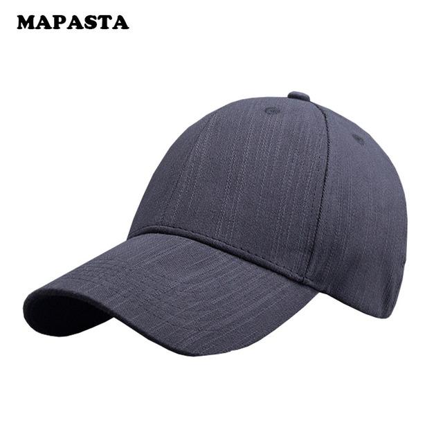 MAPASTA nuevos hombres y mujeres cap gorra de béisbol de algodón de color puro de invierno deportes al aire libre del sombrero del ocio