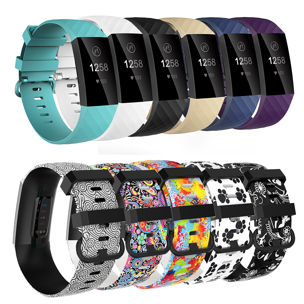 Baaletc Band Replacement For Fitbit Charge 3 Smart Accessories Bracelet Strap For Fitbit Charge 3 Band Wristband For Fit Bit