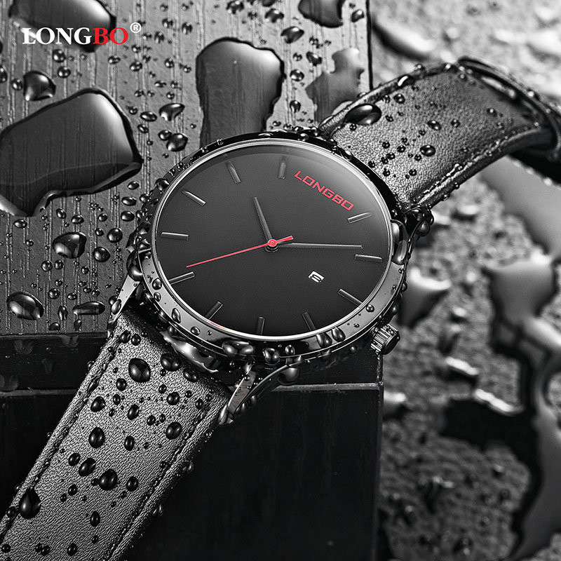 LONGBO Fashion Quartz Watch Men Watches Top Brand Luxury Famous Male Clock Wristwatch For Men Hodinky Relog Relogio Masculino ot01 watches men luxury top brand new fashion men s big dial designer quartz watch male wristwatch relogio masculino relojes