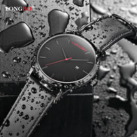 LONGBO Fashion Quartz Watch Men Watches Top Brand Luxury Famous Male Clock Wristwatch For Men Hodinky