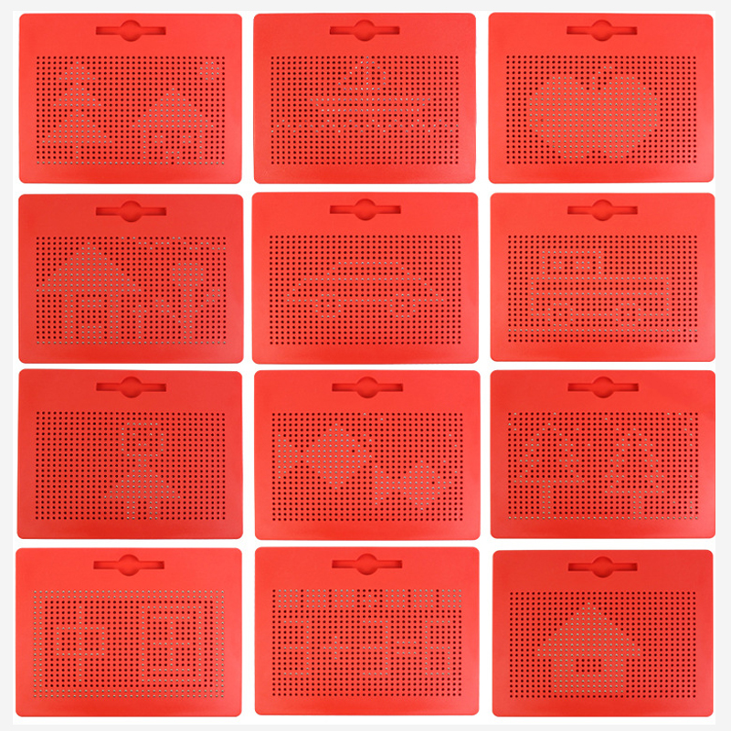 Brinquedos de Desenho tablet pad Ímã prancheta magnética Material : Plástico