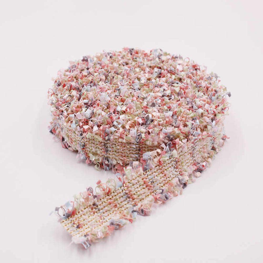 1 חצר בציר בעבודת יד זהב פרל חרוזים רקום גדילים תחרה לקצץ סרט DIY בד תלבושות שמלת תפירת מלאכת אספקה
