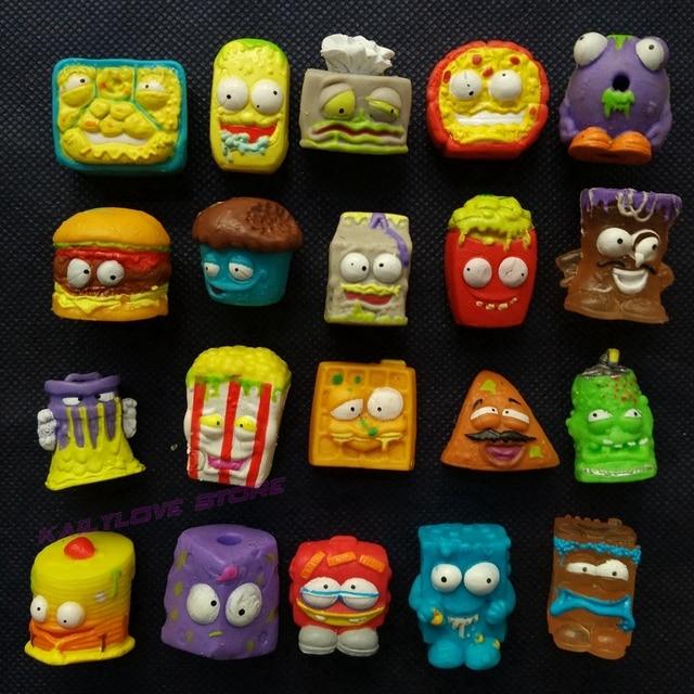 Venta caliente al azar 20/50 piezas/set The Grossery Dolls Gang Mini figuras de acción simulando jugar muñecas modelo regalo de Navidad juguete