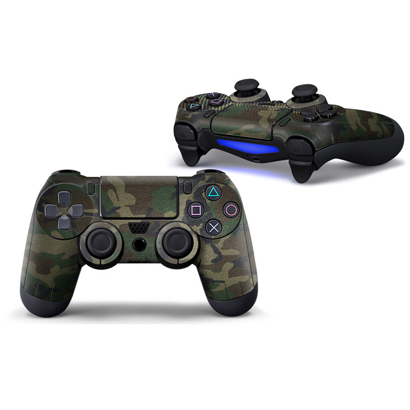 Protective Skin Sticker For ps4 controller PVC Vinyl Decorative sticker for ps4 games Controller-Radiation
