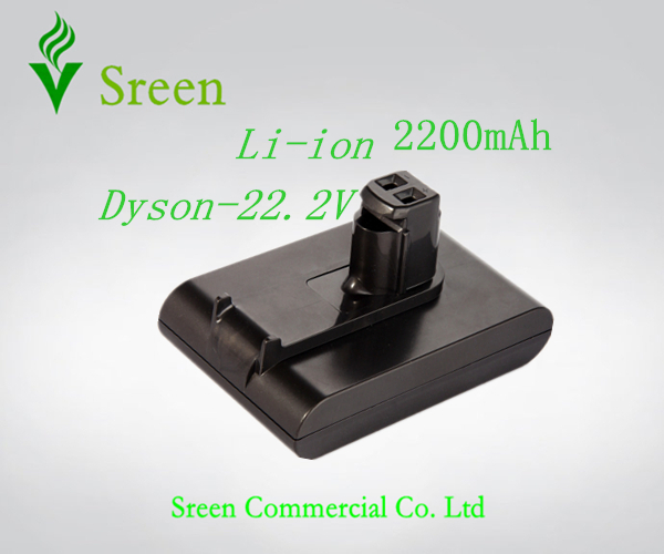 ФОТО Free Shipping 2200mAh 22.2V Rechargeable Lithium Ion Replacement Battery for DYSON Vacuum Cleaner DC31 DC34 DC35 DC44 917083-01
