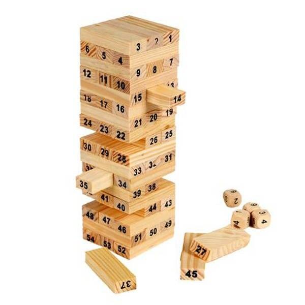 novelty wood natural color figures folds high block puzzle games for kids educational toys free. Black Bedroom Furniture Sets. Home Design Ideas