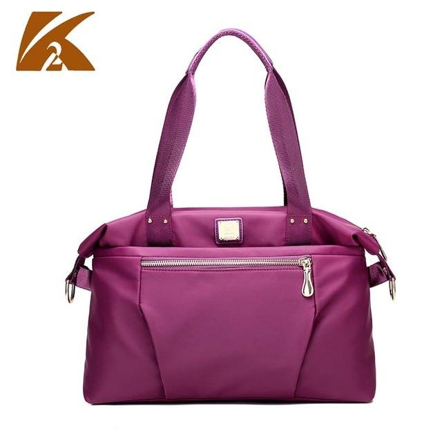 3e9991ef1b waterproof nylon messenger bag ladies handbag purple crossbody bags for  women shoulder bag beach handbags folding nylon tote bag