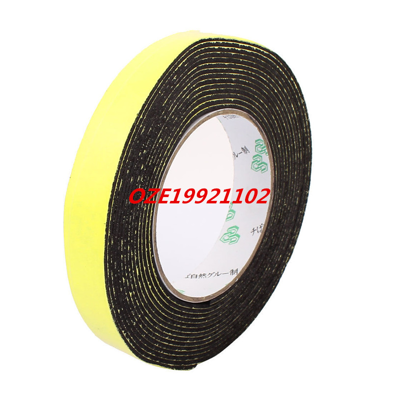20mm x 2mm Single Sided Self Adhesive Shockproof Sponge Foam Tape 5M Length 12 x 10mm single sided self adhesive shockproof sponge foam tape 2m length