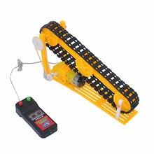 DIY Электрический конвейер модель Паровая игрушка научное образование помощь ребенок подарок мальчик девочка подарок мини конвейер Бесплатная доставка