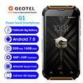 Geotel G1 мобильный телефон с четырёхъядерным процессором MTK6580A  ОЗУ 2 Гб  ПЗУ 16 ГБ  7500 мАч  Android 7 0