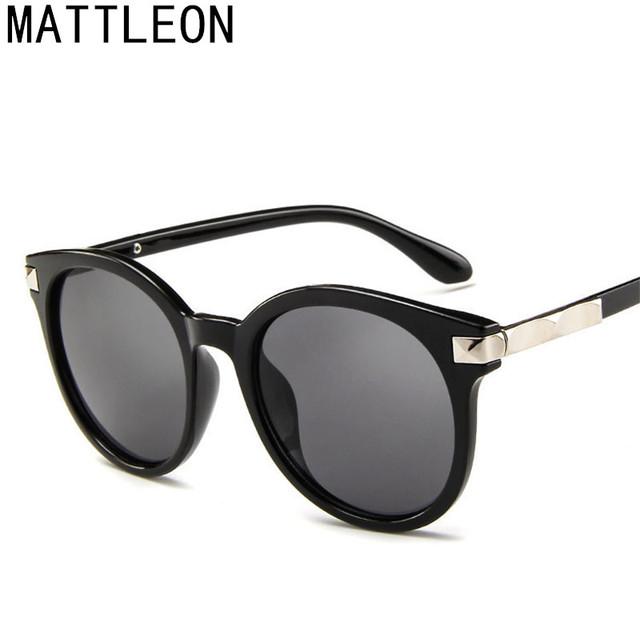 2019 Multicolour New Mercury Mirror Glasses Men Sunglasses Women Male Female Coating Sunglass Gold Round OCUL 9 Colors Optional
