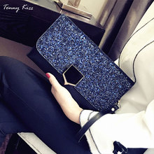 Tonny Kizz women clutch fashion evening bags with chain lady crossbody shoulder handle female handbags top new