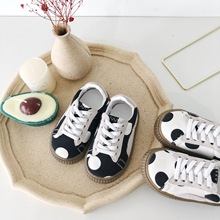 Spring 2019 New Rdot Canvas Shoes for Boys and Girls Enfant